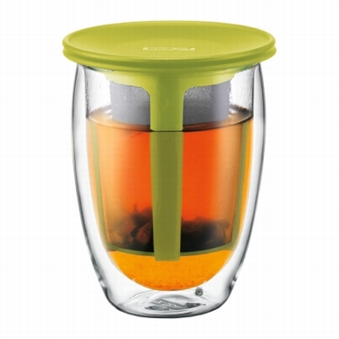 BODUM DUBBELWANDIG TEA FOR ONE LIME