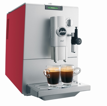 JURA ENA 7 AROMA BOOST COFFEE CHERRY RED
