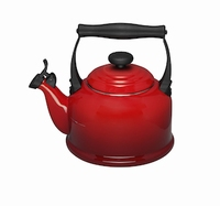 LE CREUSET FLUITKETEL TRADITION ROOD