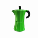 PERCOLATOR / KOFFIEPOTJE 3 PERS LIME